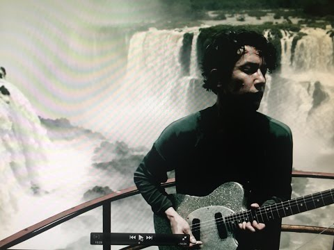 CRAZY GUITAR in front of the IGUAZU Falls