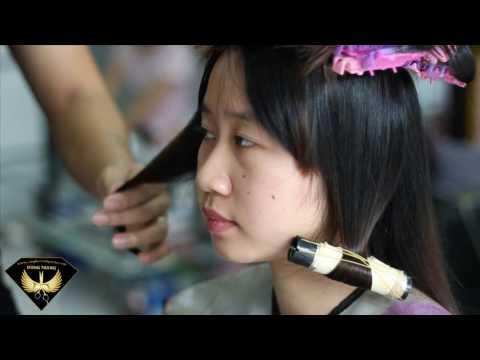 Dũng Trang Cây Kéo Vàng 2013 - uốn tóc cúp phồng