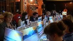 Malen wie Monet - Artnight in Frankfurt