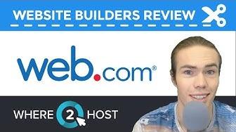 Web.com's Website Builder Review 2017