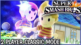 Super Smash Bros Wii U: Classic Mode 9.0 with Ness and Lucas(720p 60fps)