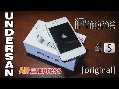 Оригинальный IPhone 4s с AliExpress