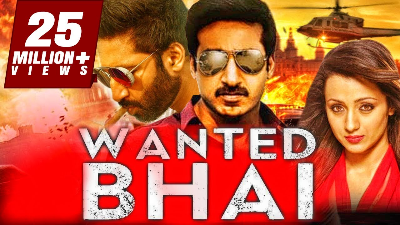 Download Wanted Bhai (2018) South Indian Movies Dubbed In Hindi Full Movie | Gopichand, Trisha Krishnan