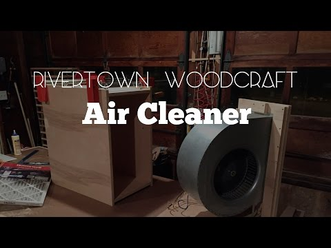 Make Your Own Wood Shop Air Cleaner