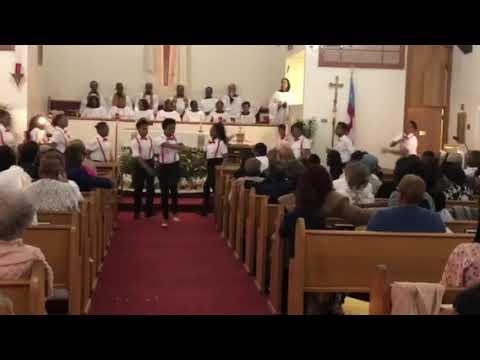 St. Mark's Praise Dancing Easter 2018