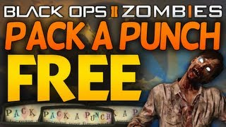 Die Rise | FREE Pack a Punch Secret Trick! Upgrade Guns For Free! (Black Ops 2 Zombies)
