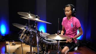 Wright Music School - Esther Weng - Rachel Platten - Fight Song - Drum Cover