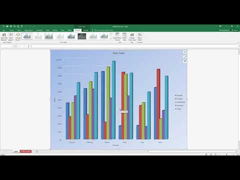 Move Charts in Excel Office 365