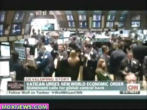 Pope Calls For New Global Central Bank - NWO Rises