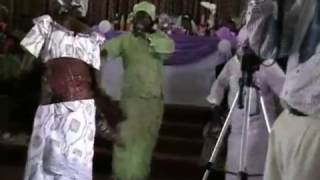 На свадьбе в Африке. Гана.