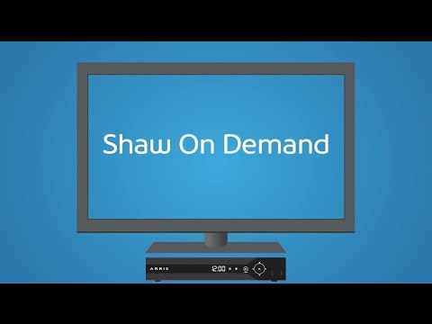 Gateway Shaw On Demand | Support & How To | Shaw