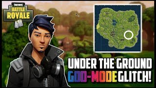 *NEW* FORTNITE 🛡️ How to get *GODMODE* Simple *UNDER THE MAP GLITCH* 🛡️ Patch 2.4.0