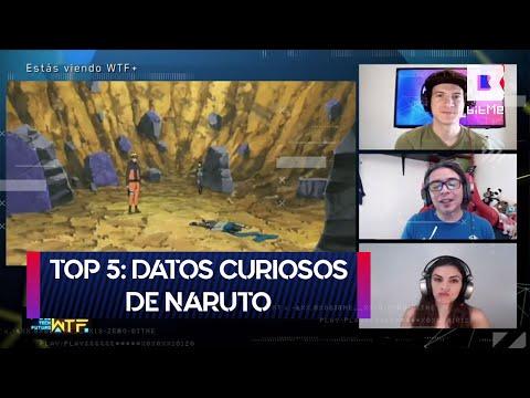 Top 5: Datos curiosos de Naruto | WTF+