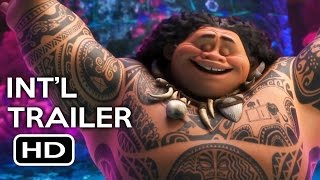 Moana Official International Trailer #3 (2016) Disney Animated Movie HD