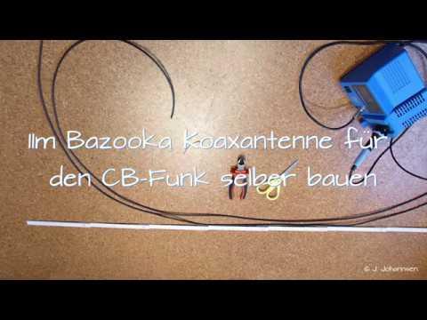 cb funk bazooka antenne selber bauen schritt f r schritt. Black Bedroom Furniture Sets. Home Design Ideas