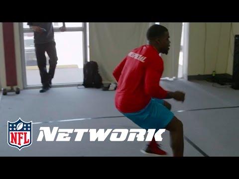Jakeem Grant Enhances Footwork & Handeye Coordination  Undrafted on NFL Network