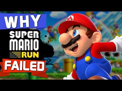 WHY Super Mario Run FAILED!