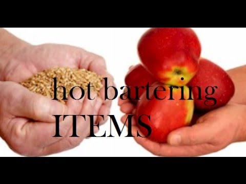 hot bartering ITEMS