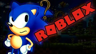 What if Sonic the Hedgehog was in Roblox?