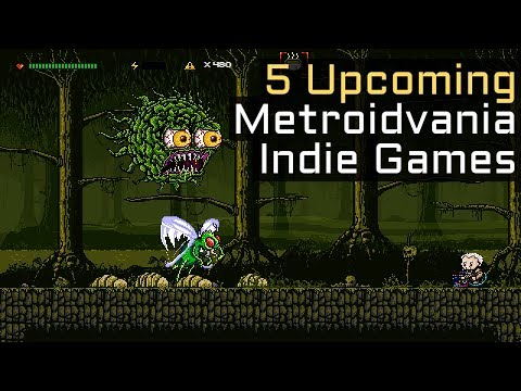 5 Upcoming Castlevania Inspired / Metroidvania Indie Games in 2018 - Part 2
