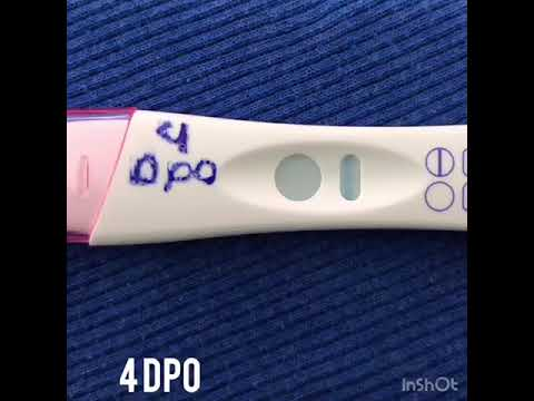 4 dpo pregnancy test