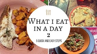 what i eat in a day #2 - Cosa mangio in un giorno?
