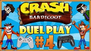 [DUEL PLAY] Crash Bandicoot: Worst Level Ever! - PART 4