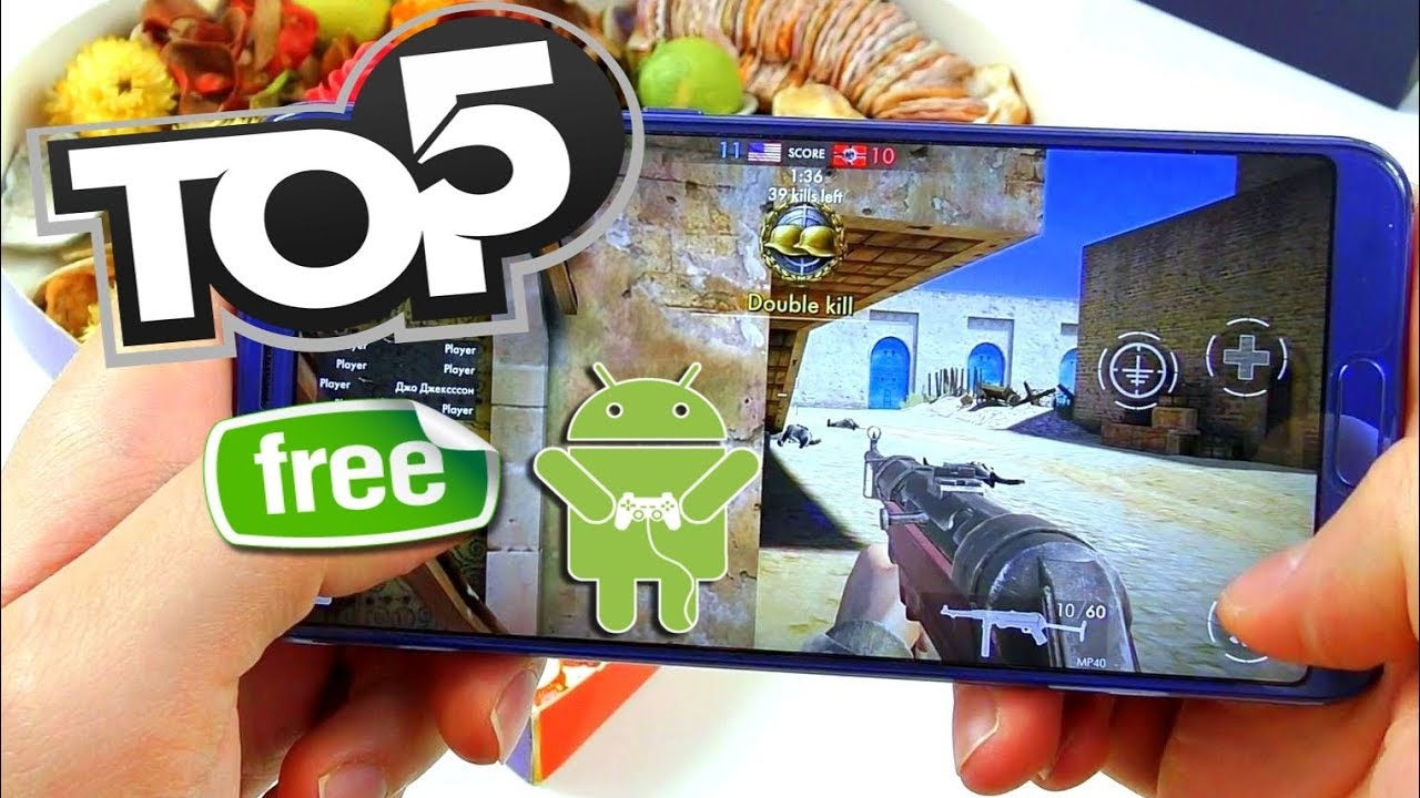 Top 5 Free Android Fps Games From Google Playstore - Youtube
