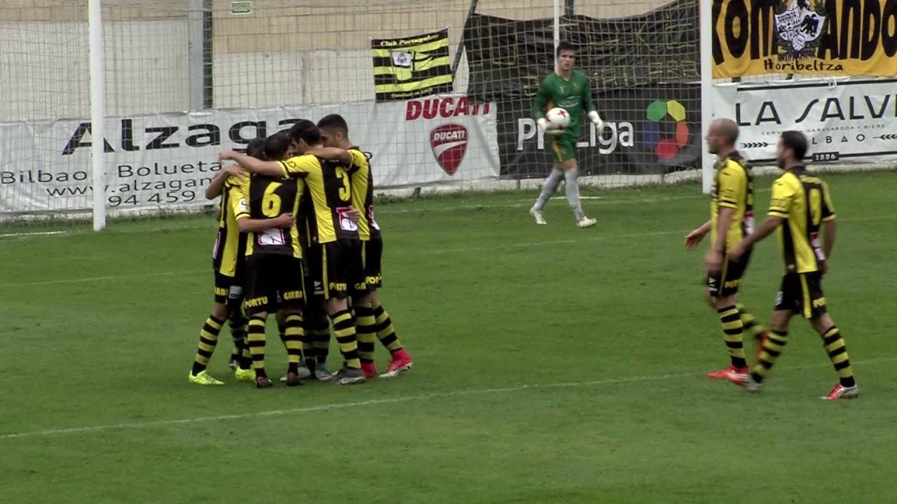 Tercera División 17-18. Resumen Club Portugalete 4 - Cultural 1 ...