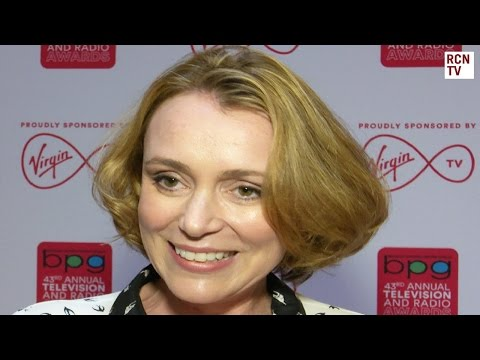 Keeley Hawes Interview Line of Duty & The Durrells
