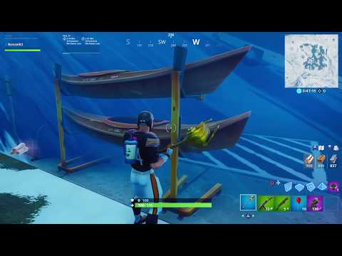 Greasy Grove Coming Back To Fortnite Season X How To Break The Chest And Get Mats Behind The Ice |
