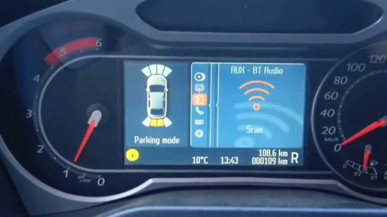 Mondeo 4 Convers Park Assist Prefl Rear Final Release