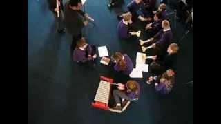 Reeth and Gunnerside Schools music workshop with Keld Ensemble, 2011
