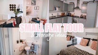 FLAT TOUR: SMALL 1 BED APARTMENT // STORAGE IDEAS