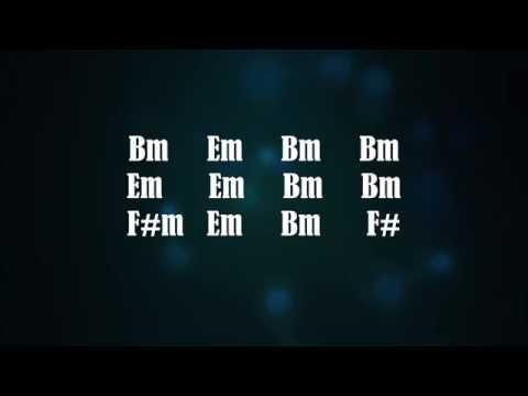 Slow Blues Backing Track - David Gilmour Style (Bm)