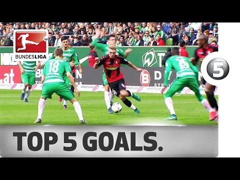 Top 5 Goals - featuring Lewandowski, Modeste and more