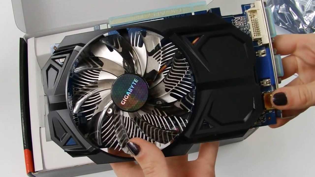 Видеокарта Gigabyte Radeon R7 250 (GV-R725O5-2GI) | unboxing