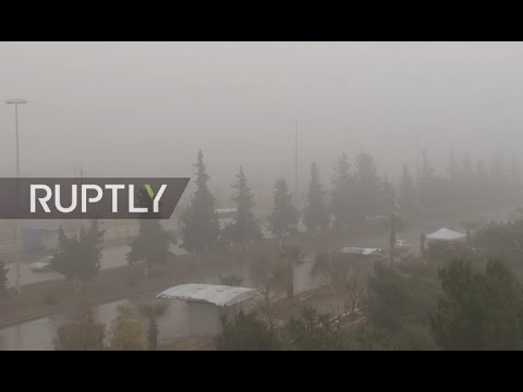 Live from Aleppo as Syrian ceasefire gets underway