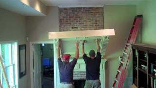 30 Minute Fireplace Renovation In 2:30 Minutes