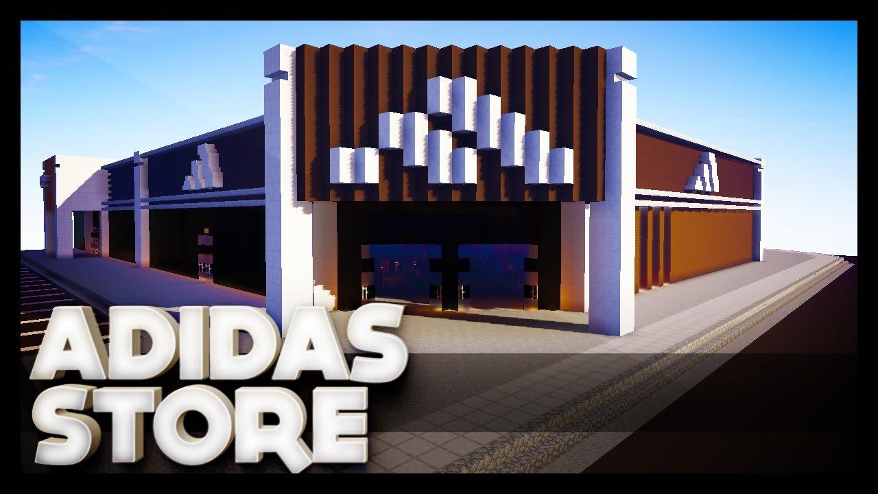 minecraft adidas store youtube. Black Bedroom Furniture Sets. Home Design Ideas