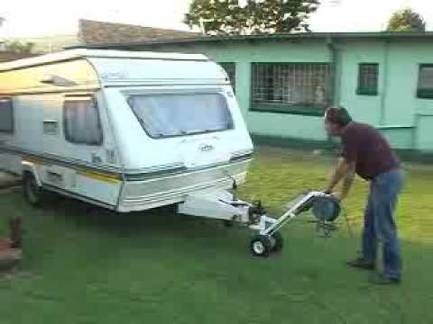 EasyMove tool to easily move your caravan or boat - YouTube