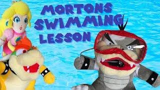 Mortons Swimming Lesson