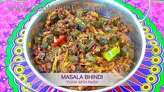 MASALA BHINDI - مصالہ بھنڈی - मसाला भिन्डी *COOK WITH FAIZA*