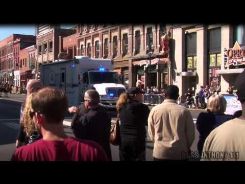 Metro Nashville Police in Veterans Day Parade