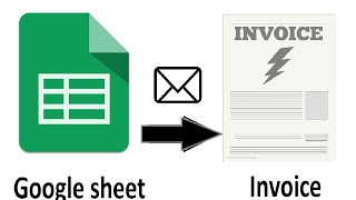 Google sheet to PDF invoice and PDF agreement automatically