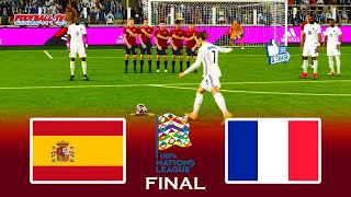 SPAIN vs FRANCE Final UEFA Nations League Match eFootball PES 2021 Gameplay