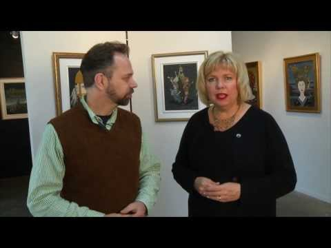 """""""go! Island"""" Visits Blue Whale Gallery - Shaw TV Victoria"""