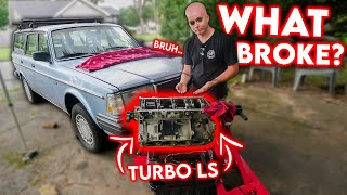 homepage tile video photo for WHAT BROKE On My Sleeper's 700HP Turbo LS?   *Knock* *knock*