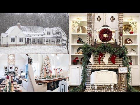 Home Stylist Christmas Home Tour 2019 | Instagram Home Tour | Antique Farmhouse Christmas Home Tour