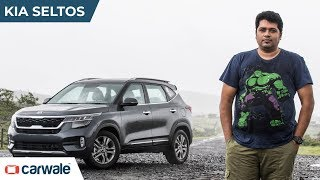 Kia Seltos | Will It Beat The Hyundai Creta? | CarWale